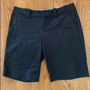 Banana Republic black Bermuda shorts